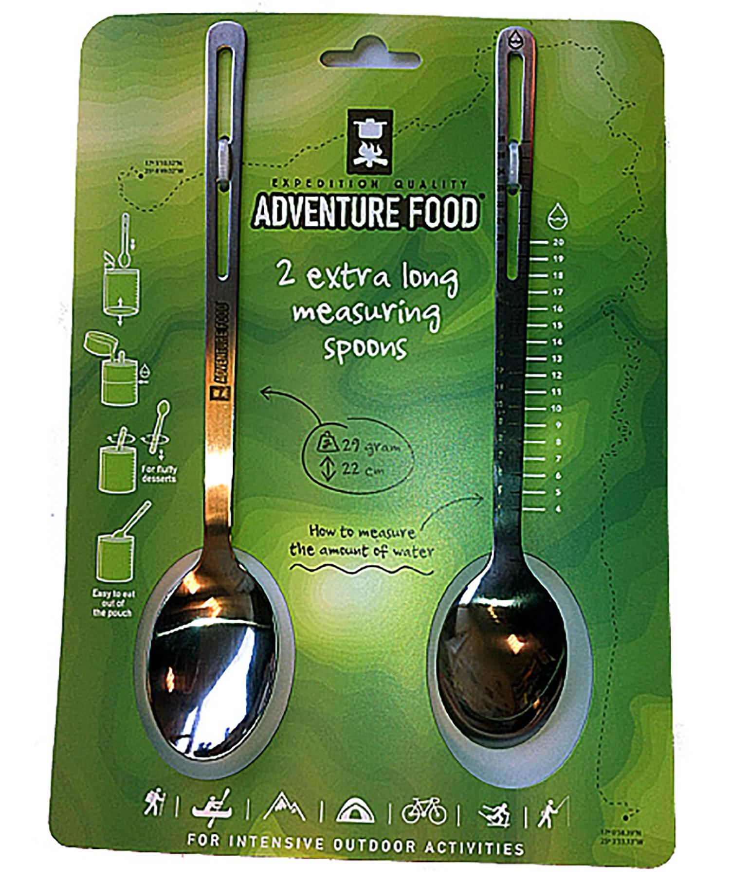 AF Spoon, lang røreskje i stål, 2 pk