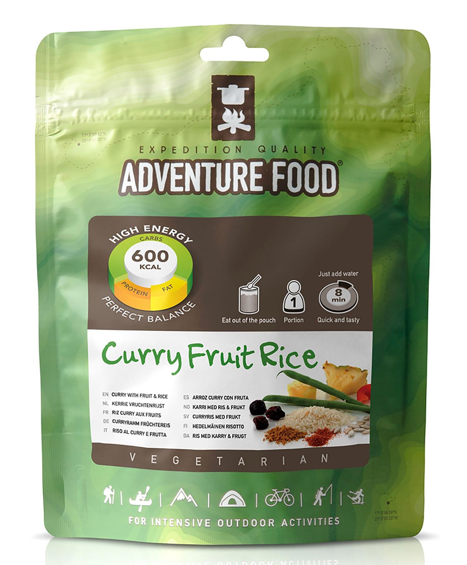 Adventure Food Karri m/ris og frukt
