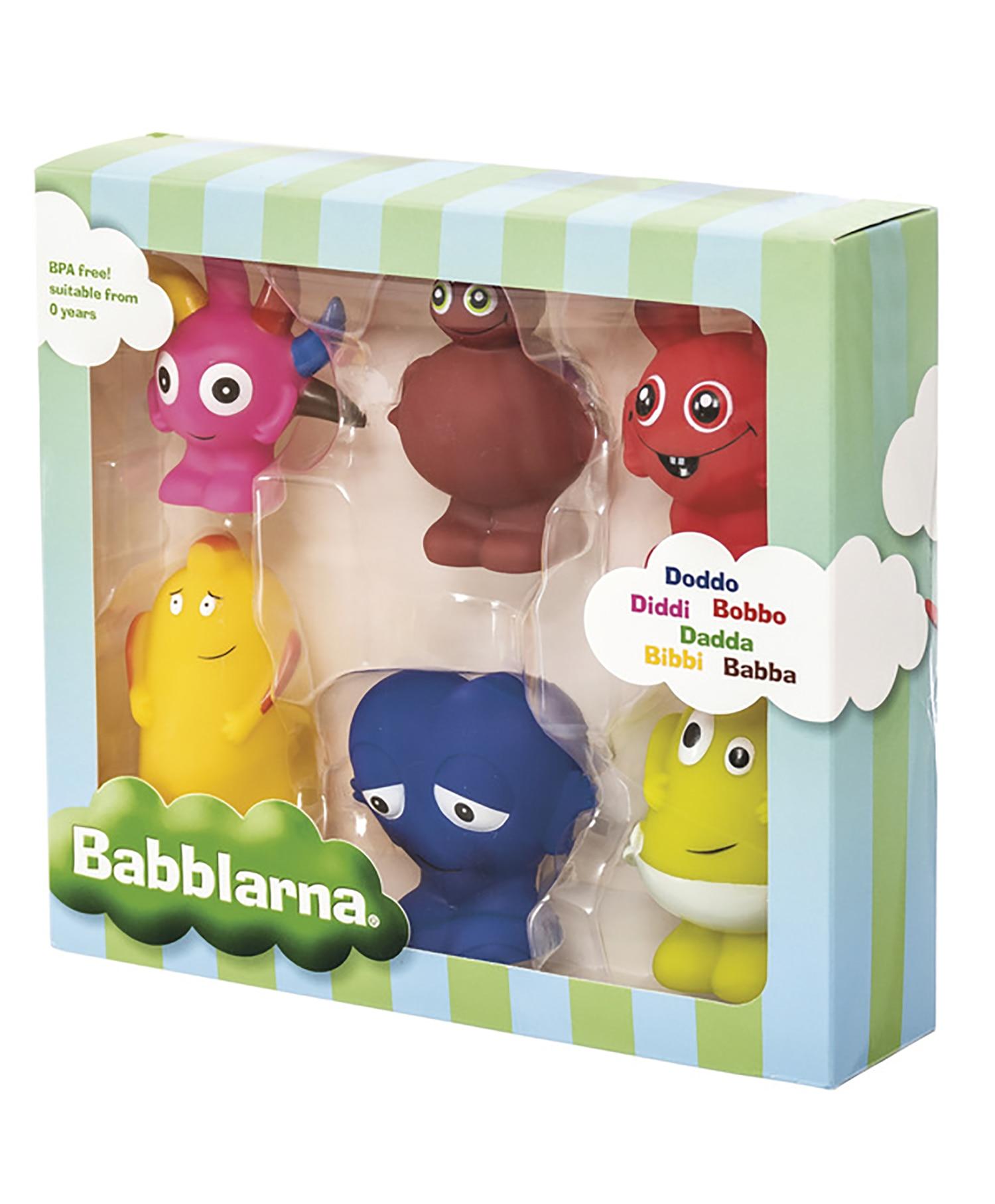 Babblarna Plastfigurer  6pk