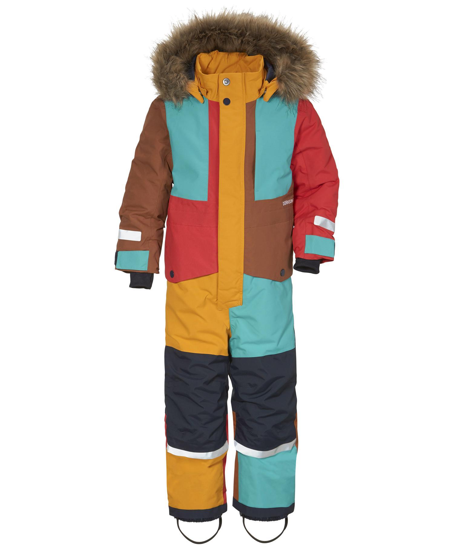 Didriksons Bjørnen Multi color dress