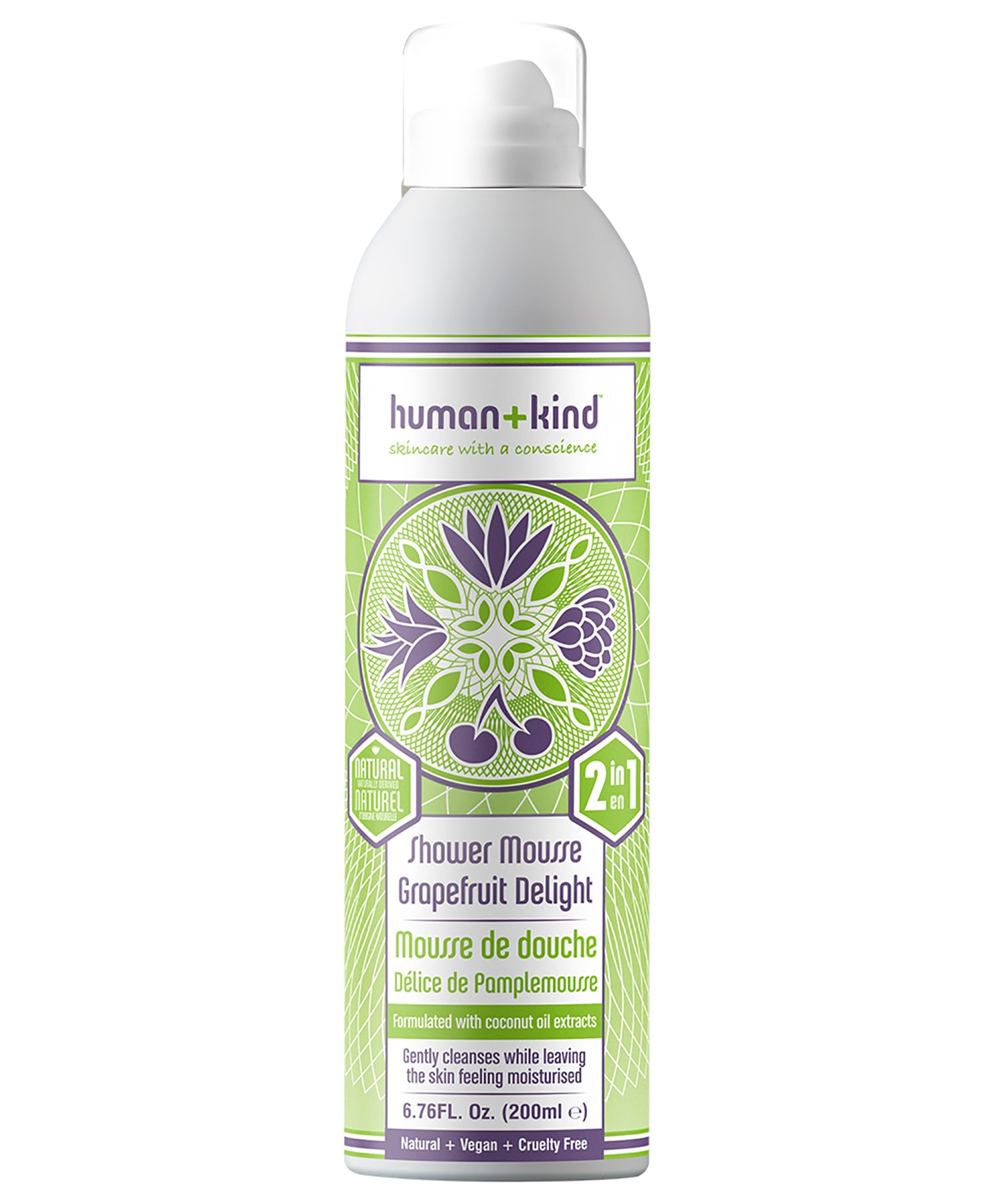 Human+Kind Shower Mousse