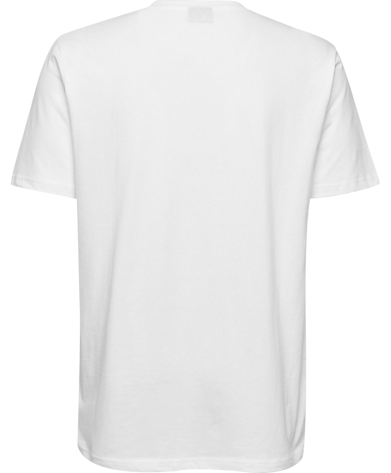 Hummel cotton logo tee