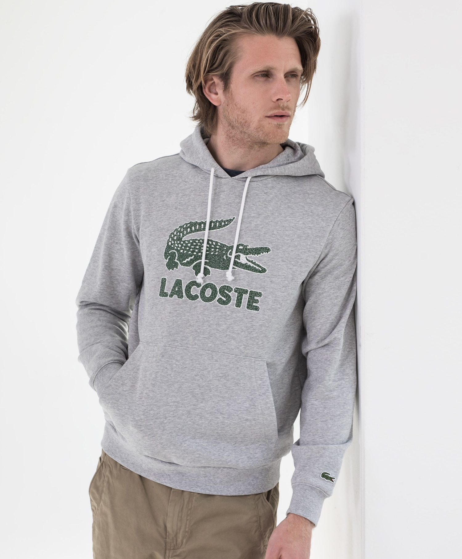 Lacoste logo genser