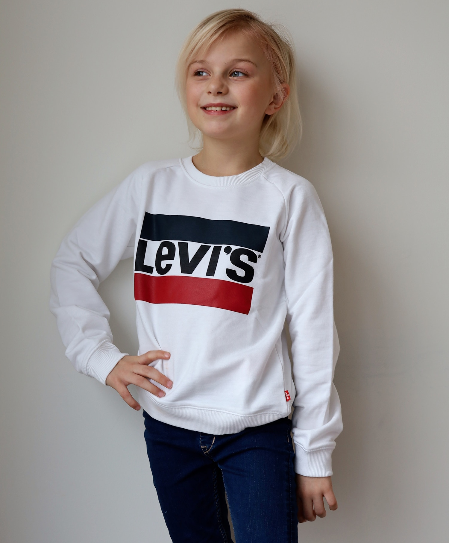 Levi's college genser