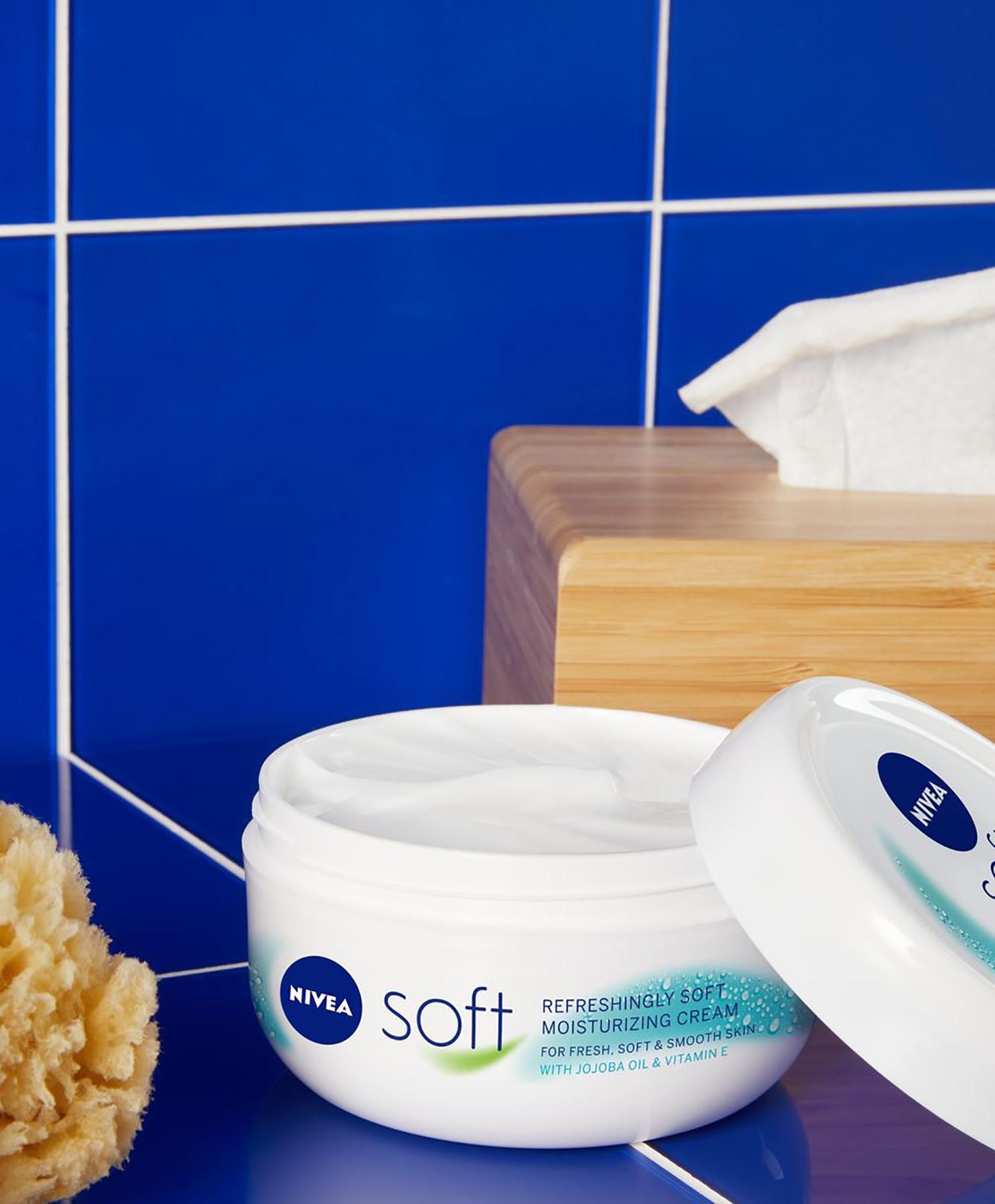 Nivea Soft Body and Face Cream