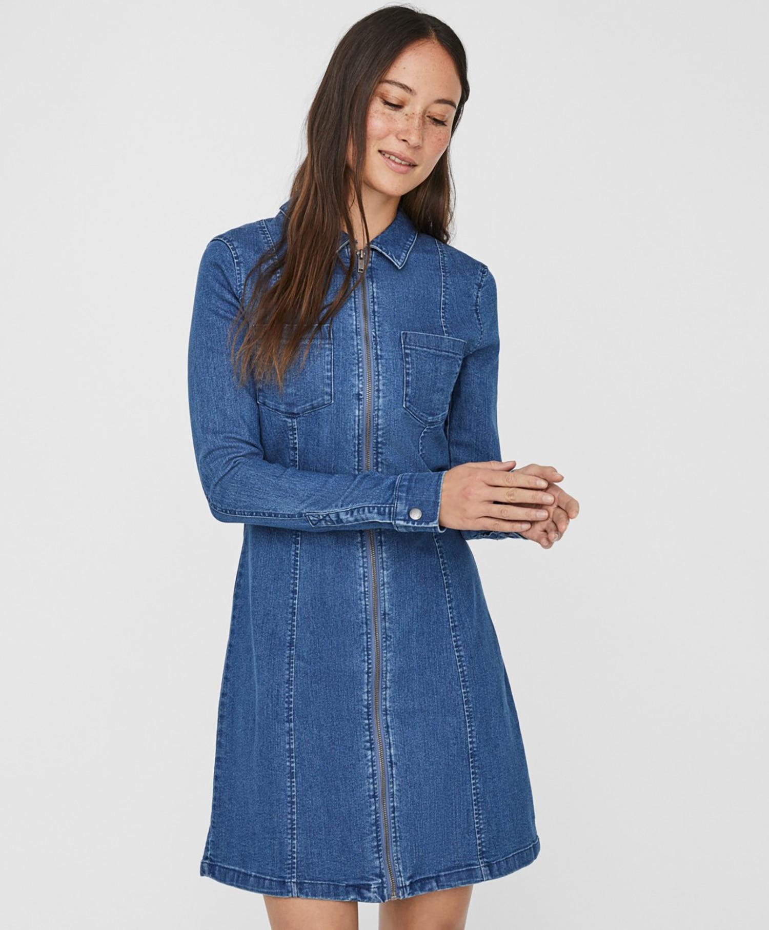 Noisy May denim dress