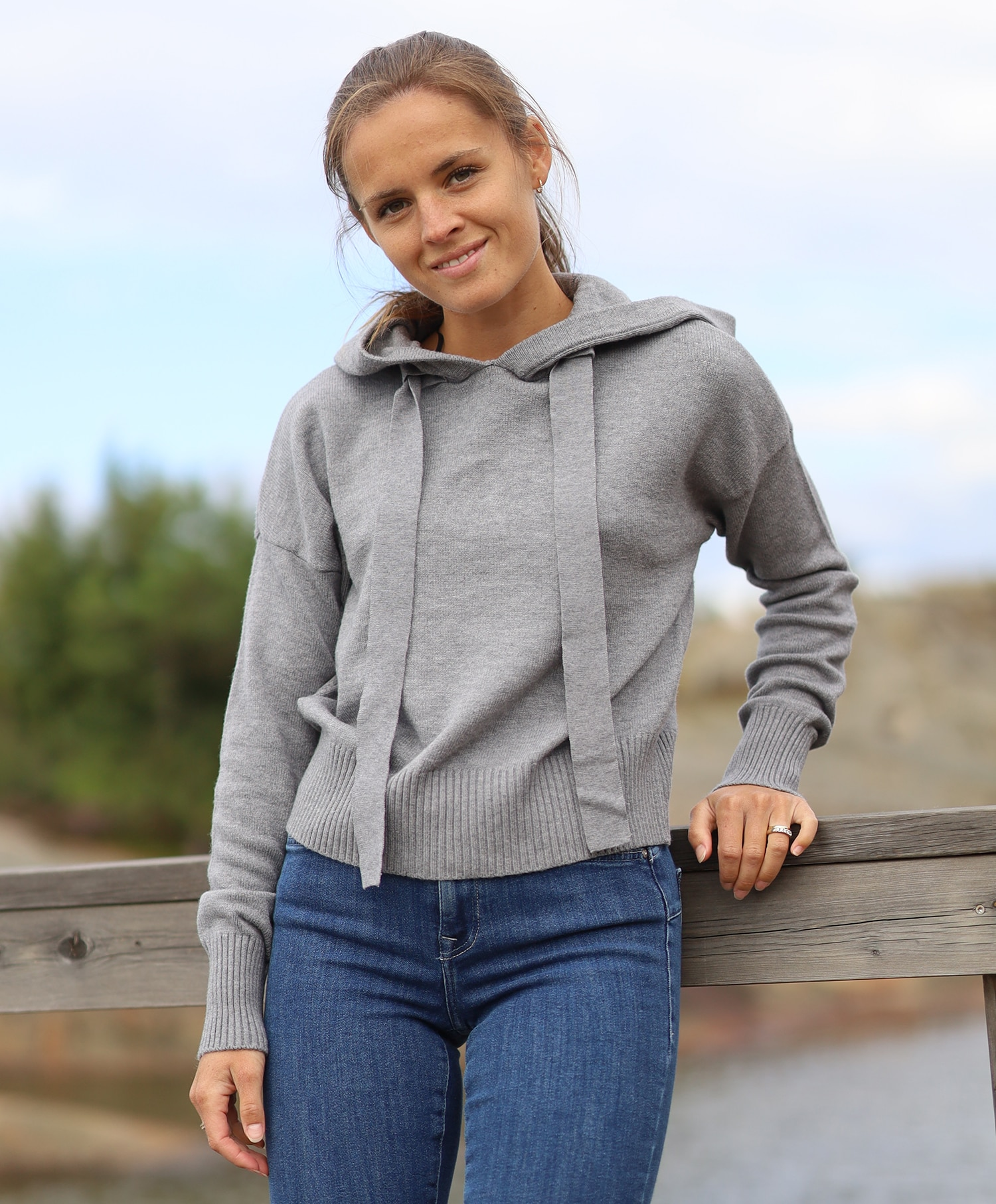 Noisy May Ship hoodie knit