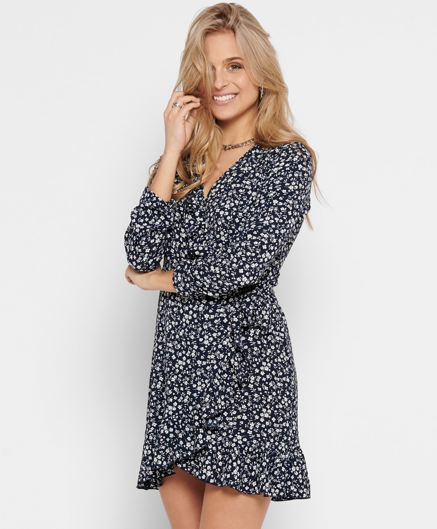 Only Carly Wrap Dress