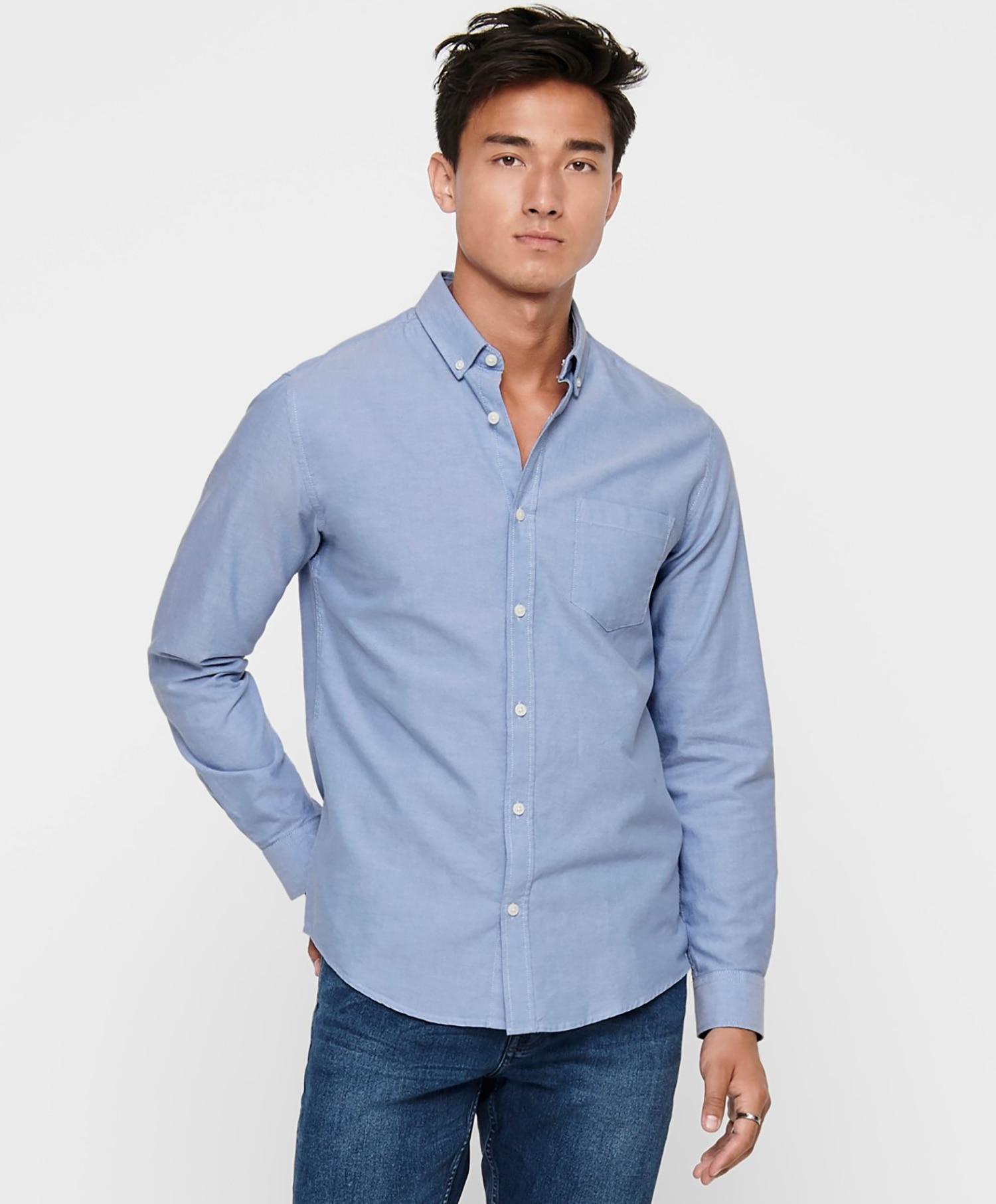 Only oxford skjorte