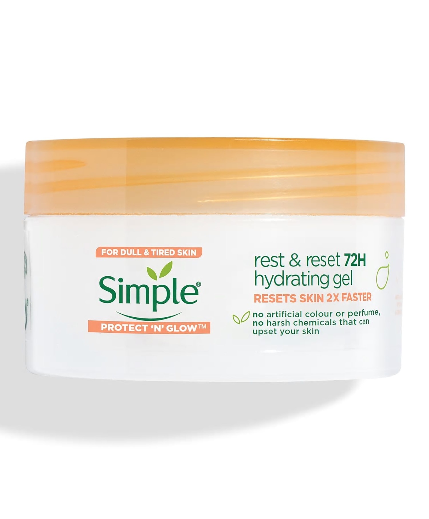 Simple Rest and Reset 72H Hydrating gel