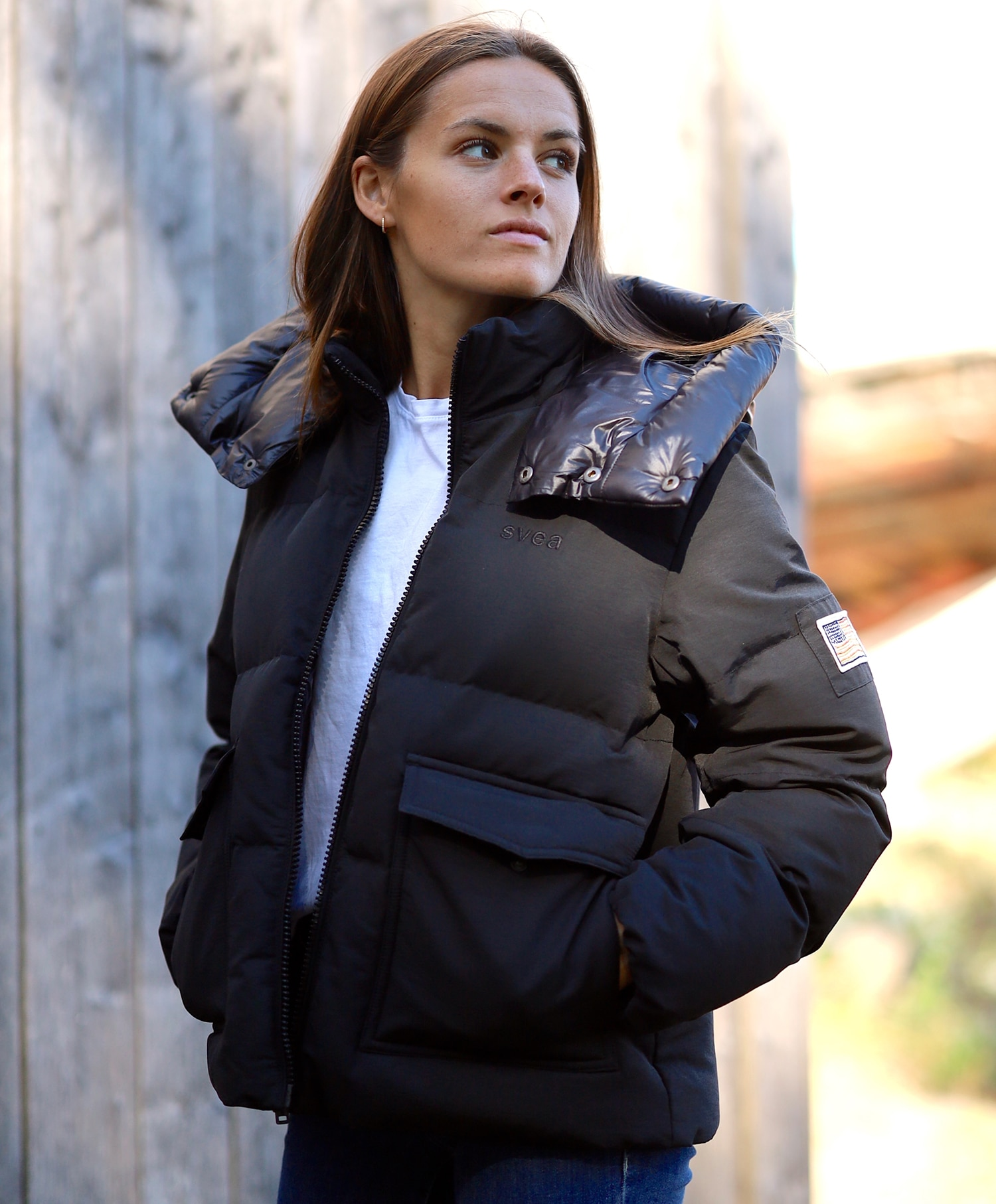Svea Hooded Puffer Jacket