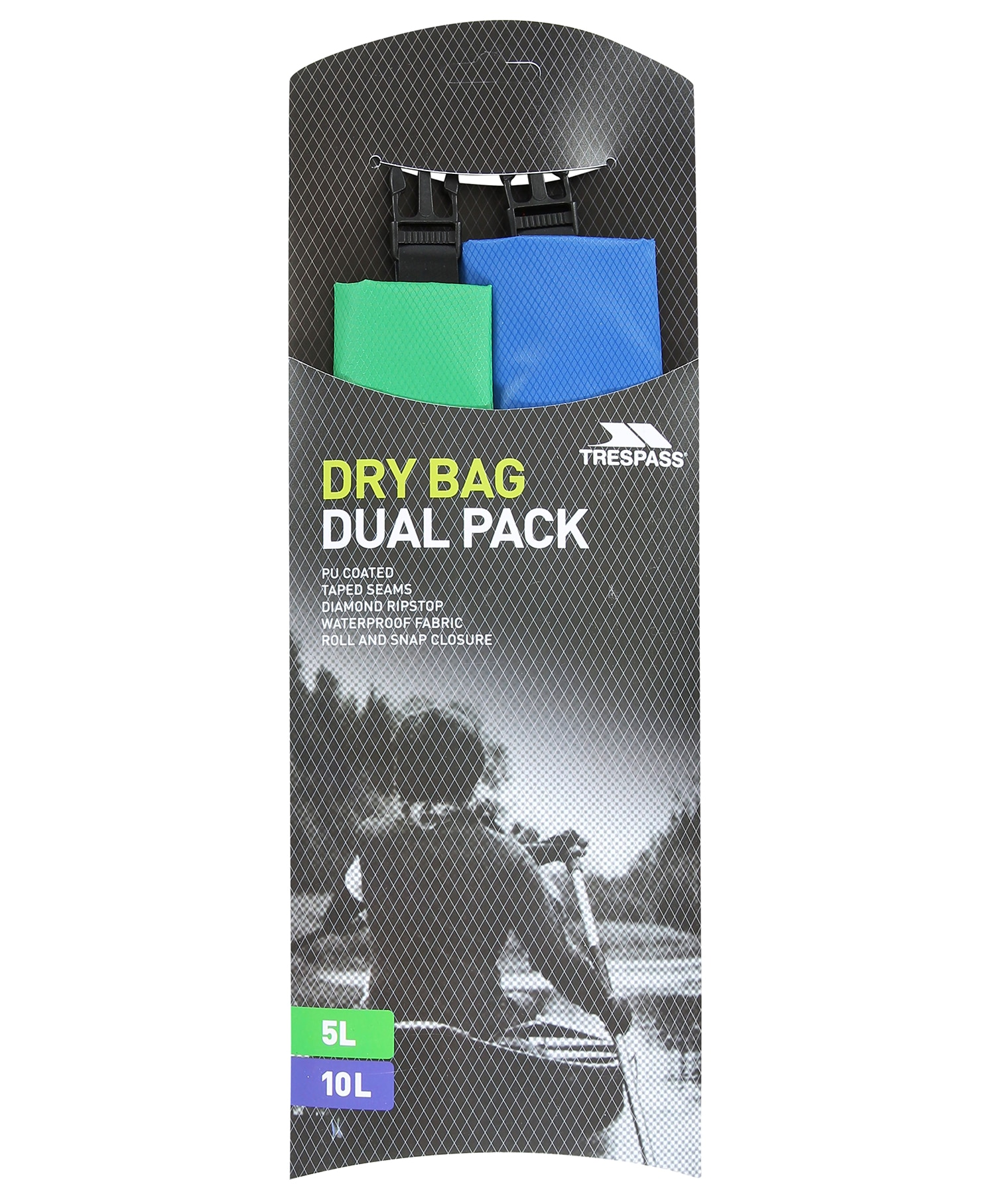 Trespass 2pk Waterproof Bag