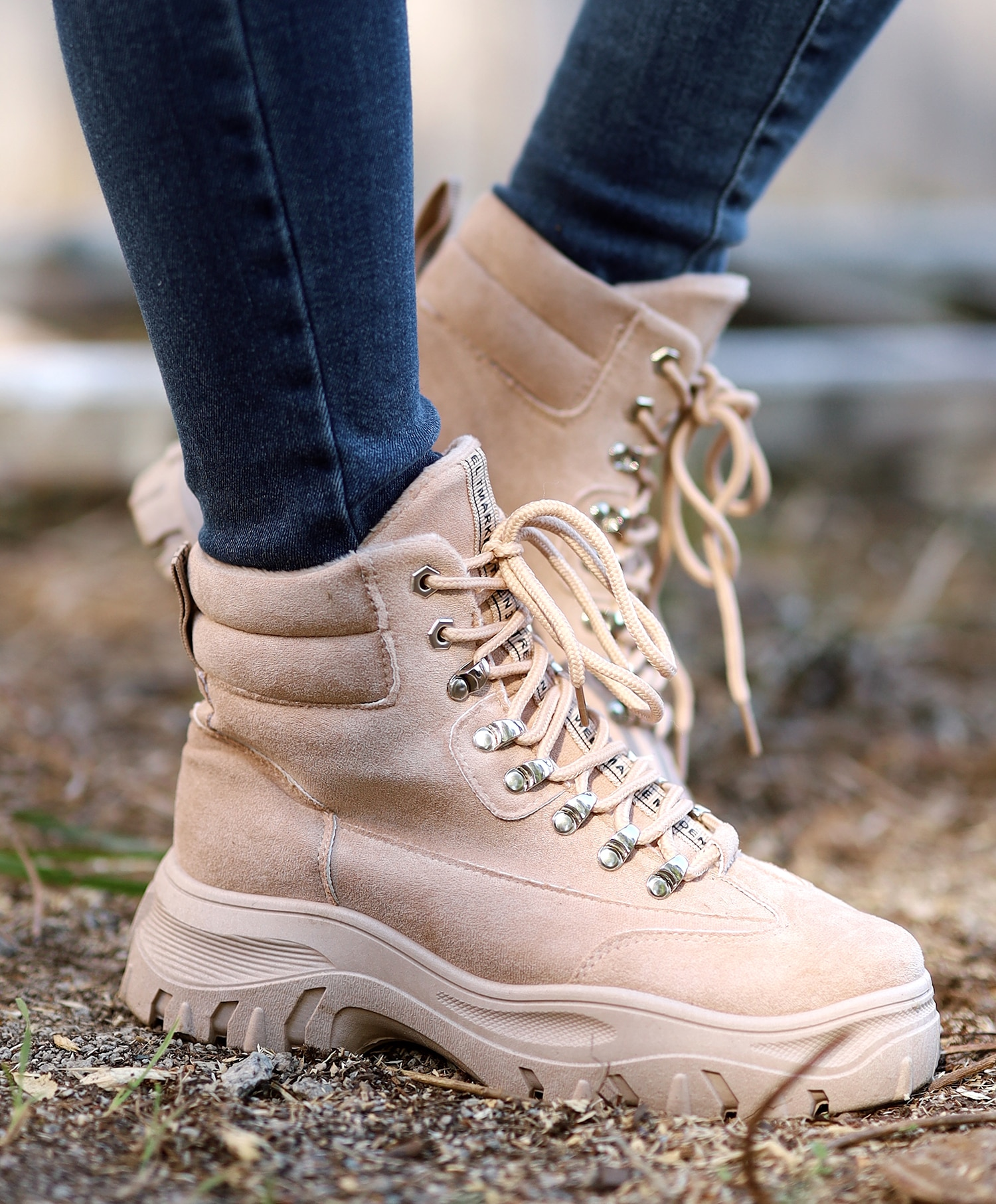 Vannucci Boots med snøring