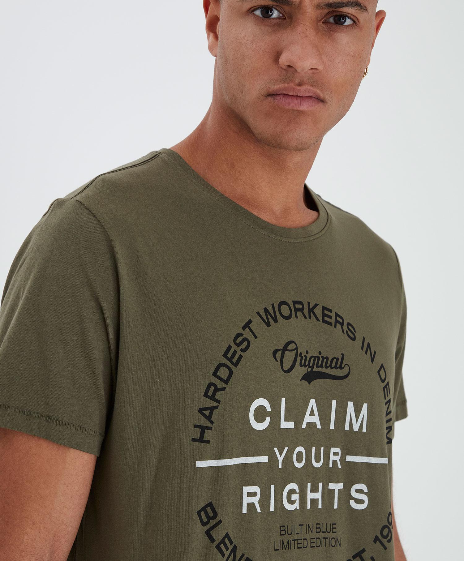 Blend T-shirt R print
