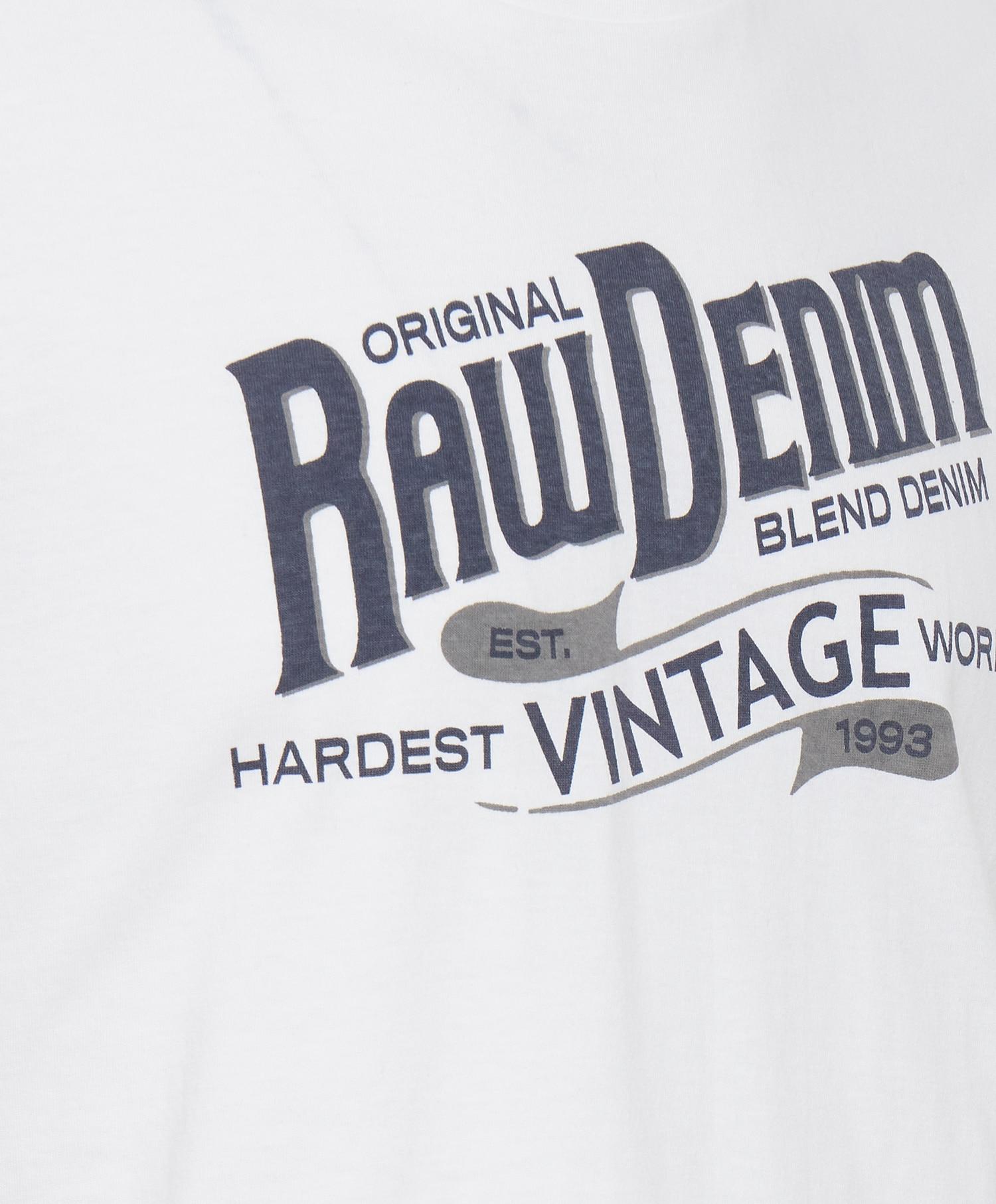 Blend T-shirt raw denim