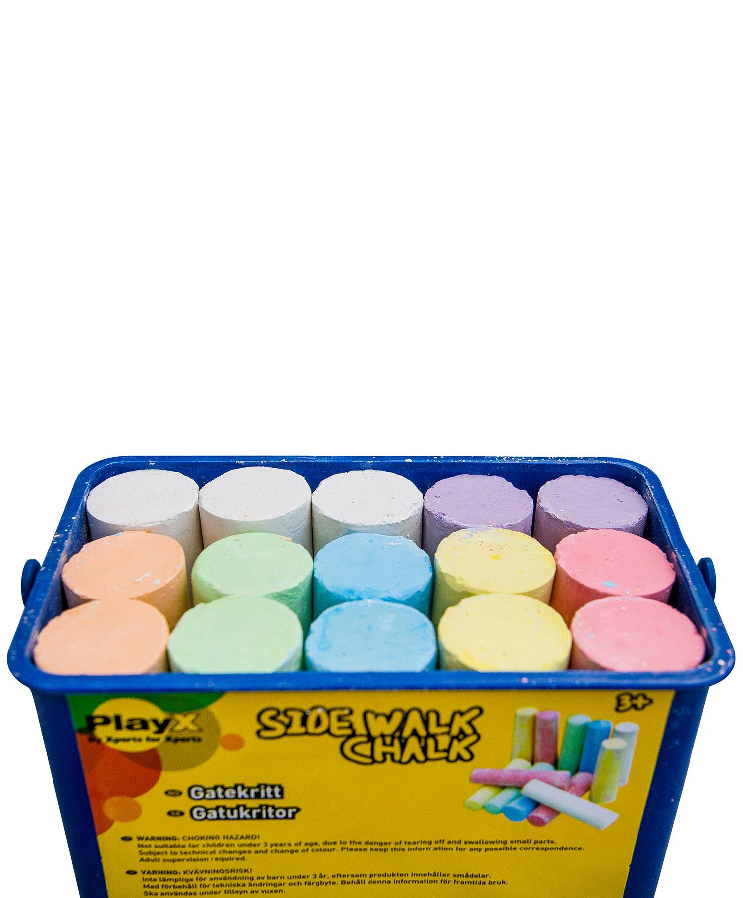 PlayX gatekritt 15 farger