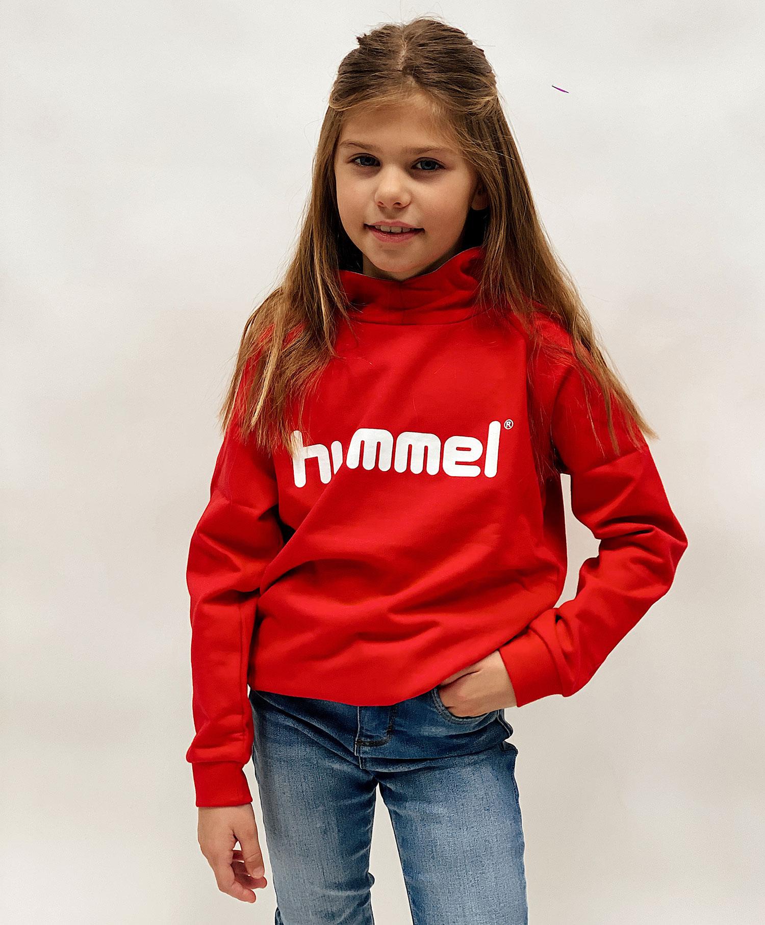 Hummel logo hoodie
