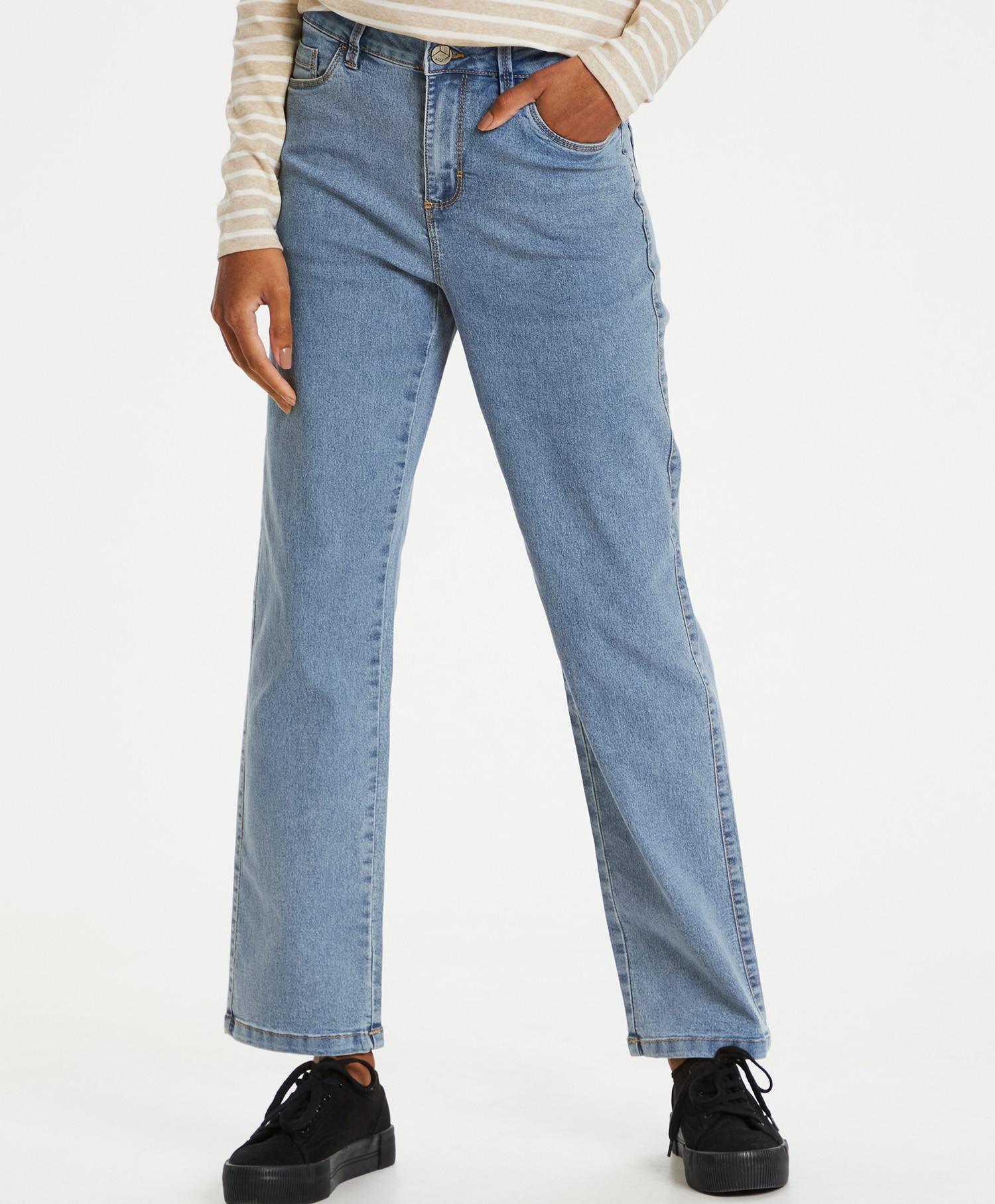 Kaffe straight 7/8  jeans