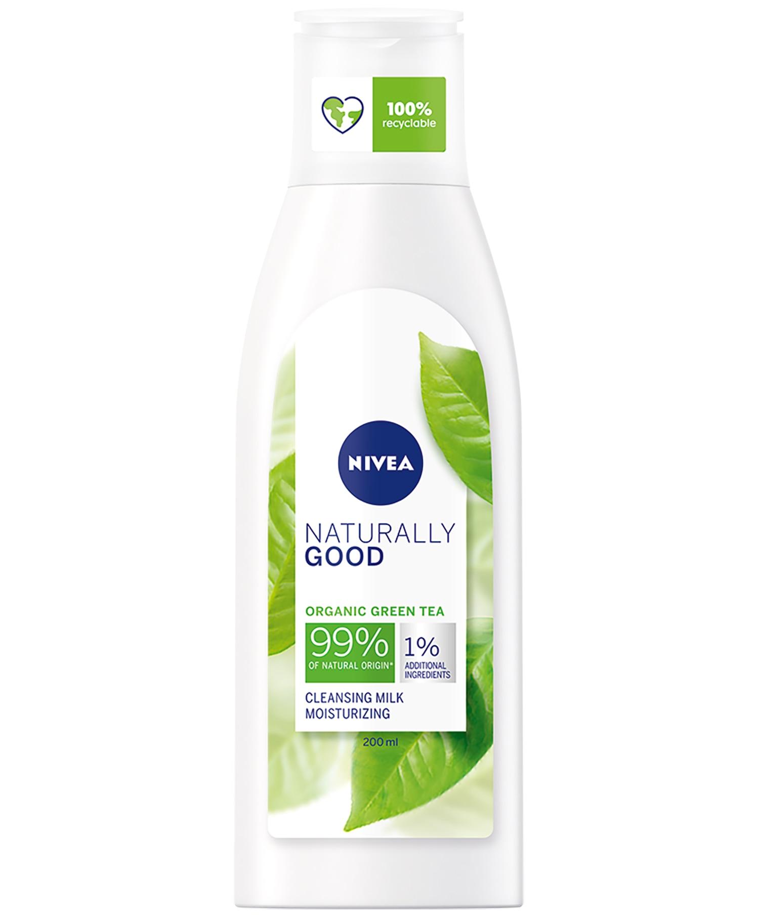 Nivea Naturally Good Cleansing Milk