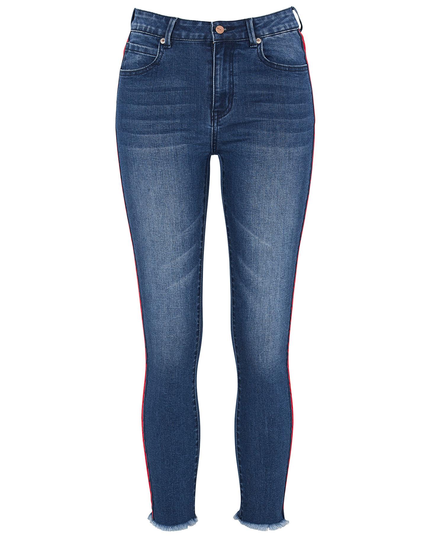 Redhill jeans med stripe