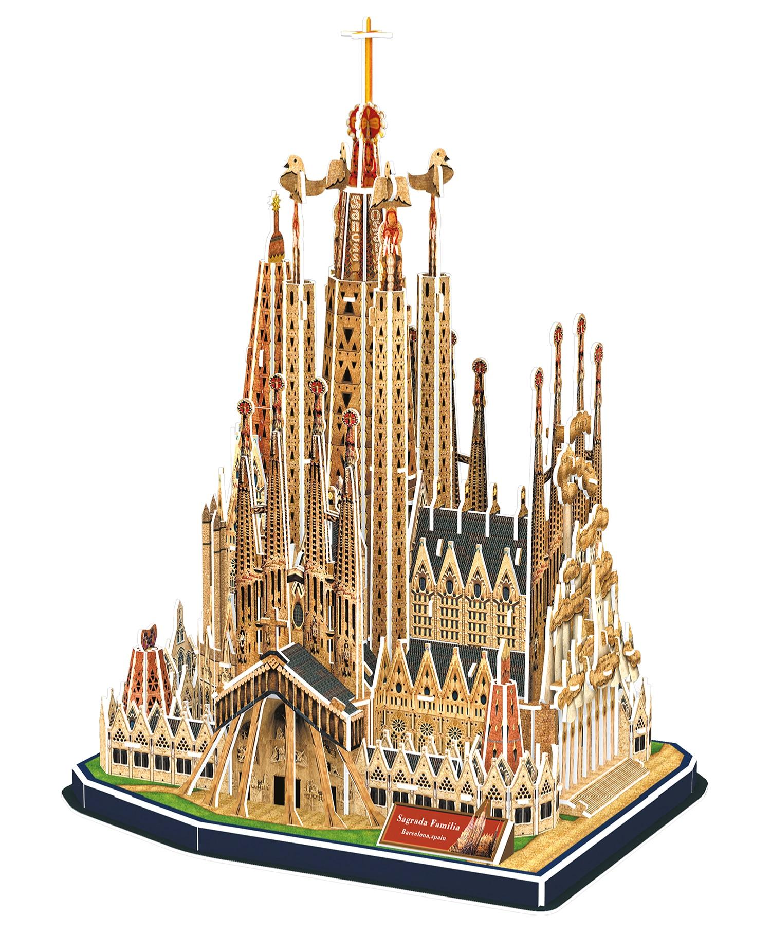 3D puslespill Sagrada Fam